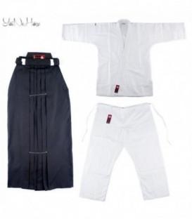 Aikido Set Basic | Aikido Gi und Hakama SET