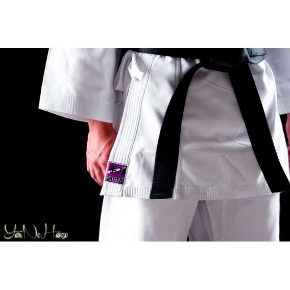 Karate Gi Shuto Okinawa | Karate Gi Weiß 14 Unzen leicht | Karate Anzug Weiß